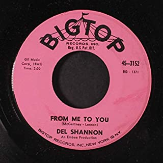 from me to you / two silhouettes 45 rpm single