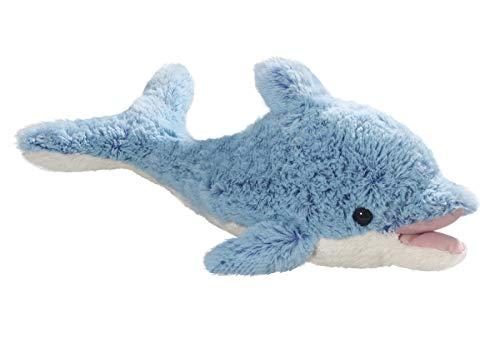 Carl Dick Delfin mit offenem Mund blau aus Plüsch ca. 48cm 3272