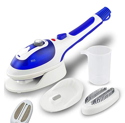 Electric Iron,Multifunctional Handheld Garment Steamer Electric Steam Iron Ceramic Steam Brush for Clothes Vertical Hanging & Flat Steamer