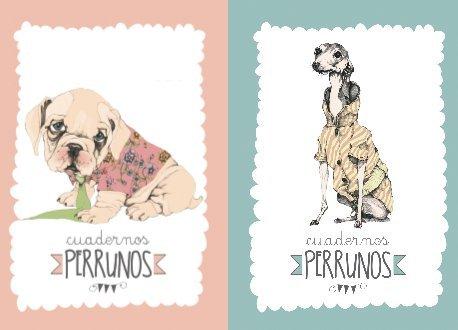 PACK 2 Cuadernos Perrunos GALGO & CACHORRO