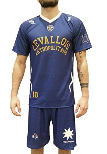 Bigsport Gavin Ware 2017-2018 - Camiseta de Baloncesto para Hombre, Hombre, Color Azul, tamaño FR : XXS (Taille Fabricant : 14 ANS)