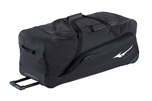 Mizuno MX Equipment Wheel Bag G2, 360274.9090.01.0000, Schwarz