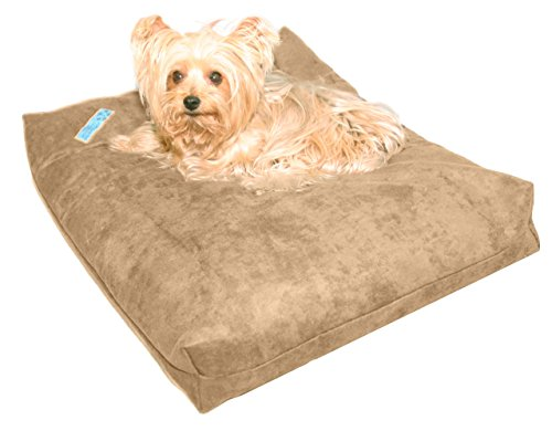 Five Diamond Collection Shredded Memory Foam Orthopedic Waterproof Bed For Dogs