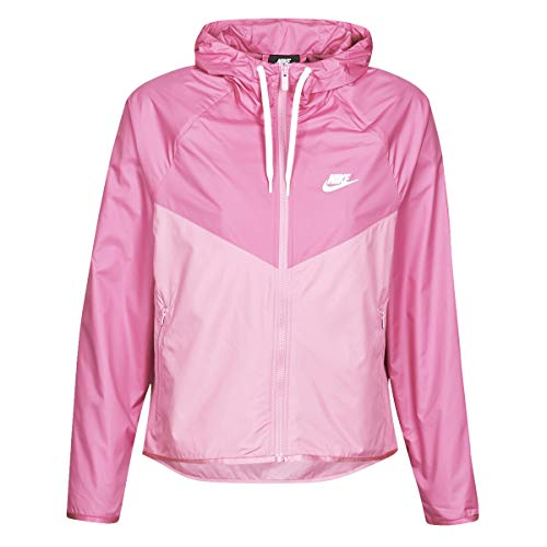 Nike Damen W NSW WR JKT Sport Jacket, Cosmic Fuchsia/Magic Flamingo/(White), M