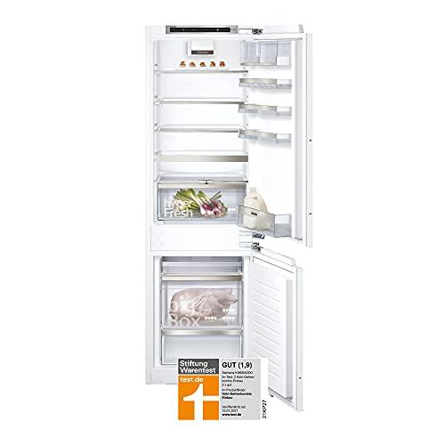 Siemens KI86SADD0 iQ500 Einbau-Kühlgefrierkombination / D / 164 kWh/Jahr / 165 l / lowFrost / hyperFresh plus / LED Beleuchtung