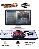 Theoutlettablet@ - Pandora Box 3D WiFi con 2448 Juegos Retro Consola Maquina...