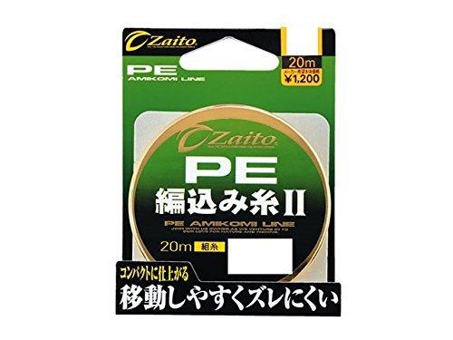 OWNER(オーナー) PEライン ザイト 編み込み糸II 20m 0.4号 イエロー