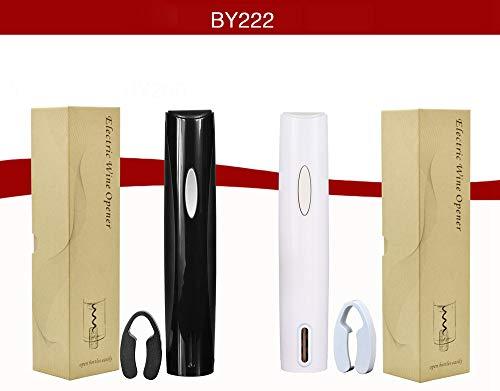 Paris LYS Elektrischer Flaschenöffner Wein Flaschenöffner Trockenbatterie-Multifunktions-Flaschenöffner,Black