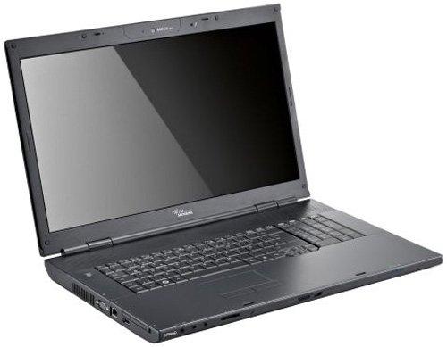 Fujitsu  Amilo Li 3910 46,7 cm (18,4 Zoll) WXGA+ Laptop (Intel Pentium T3400 2,2GHz, 3GB RAM, 320GB HDD, Intel GMA 4500M, DVD+- DL RW, Vista Home Premium) schwarz