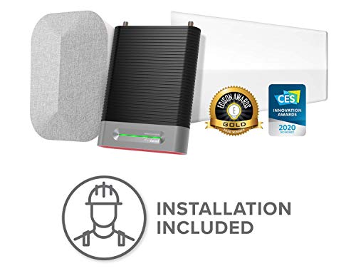 weBoost Installed | Home Complete (474445) Cell Phone Signal Booster Kit | Professional Installation...