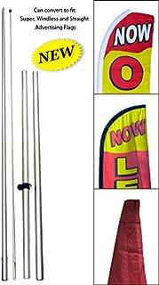 FlagsImp pol Convertible Hybrid Advertising Swooper Pole