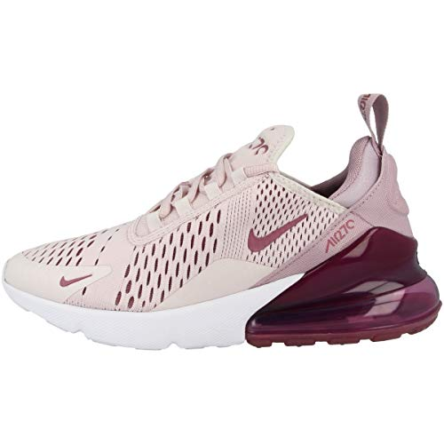Nike W Air MAX 270, Zapatillas para Correr Mujer, Barely Rose/Vintage Wine/Elemental Rose/White, 38.5 EU