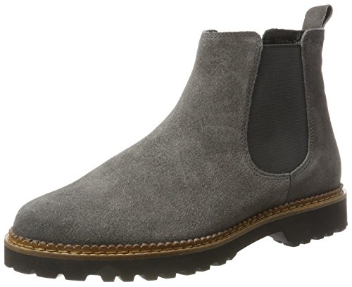 Sioux Vesela-172, Damen Chelsea Boots, Grau (Asphalt 002), 39.5 EU (6 UK)