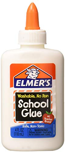 Elmer's E304 4 Oz School Glue, White