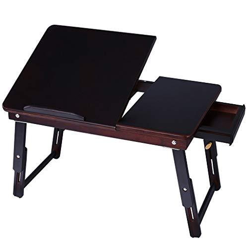 Hbao Mesa para Computadora Portátil Escritorio para Computadora con Ventilador para Cama Sofá Escritorio Plegable Ajustable para Computadora Portátil En La Cama