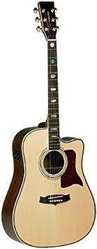Tanglewood TW1000CE - Guitarra acústica, acabado natural brillo