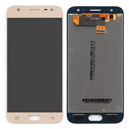 LHND - Pantalla LCD de repuesto para Samsung Galaxy J3 (2017) SM-J330 / J3 Pro 2017 J330 DUOS J330G J330L J330F J330FN J330DS J3300 LCD Display digitalizador de conjunto + herramientas (dorado)