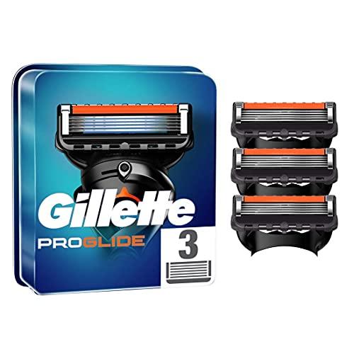 Gillette ProGlide Cuchillas de Afeitar Hombre, Paquete de 3 Cuchillas de Recambio