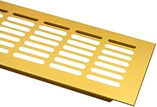 Ventilatierooster 100mm door middel van geperforeerde plaat ventilatie verkrijgbaar in diverse kleuren en lengtes (1000mm,...
