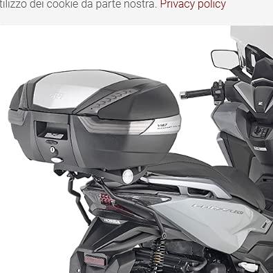 GIVI SR1187B - Casquillo trasero específico para Honda Forza 125 350 2021
