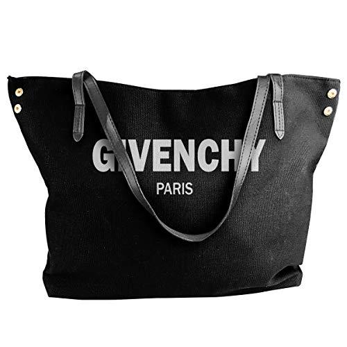 Fashion Givenchy - Borsa a tracolla in tela, motivo: Parigi