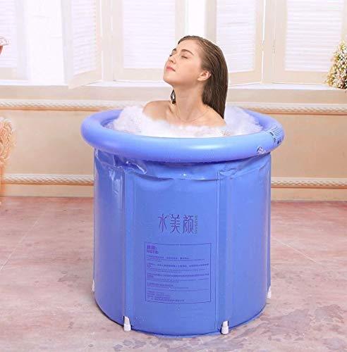Cómoda Bañera Inflable Bañera De Masaje Plegable para Adultos Bañera De SPA para El Hogar Puede Sentarse En La Bañera De Esquina Mientras Se Baña