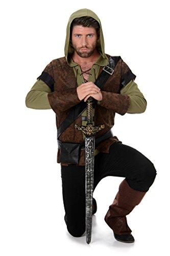 Robin Hood, Costume da Carnevale da Uomo, Principe dei ladri, Costume da Adulto