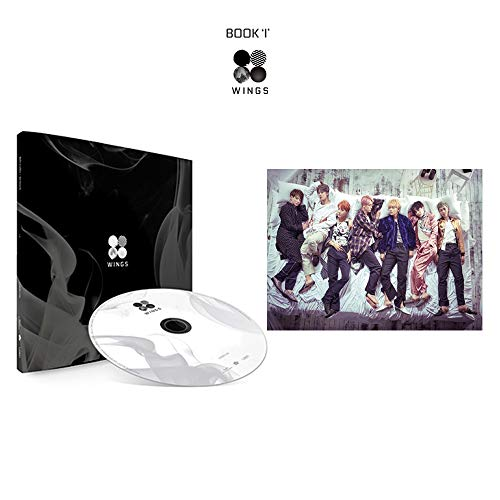 BTS Wings 2nd Album (I Version) Bangtan Boys Vol.2 CD+Poster+Photobook+Polaroid Photocard+Gift (Extra 10 Photocards Set)