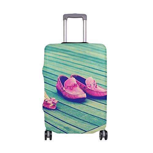 Funda para Equipaje de Viaje IUBBKI, Calzado para niñas, Protector de Maleta...