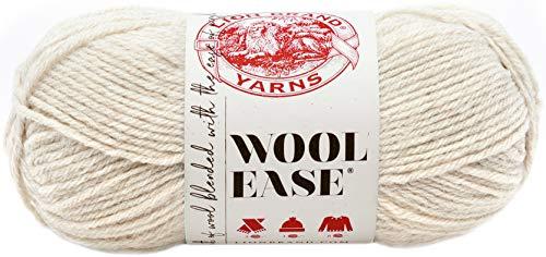 Lion Brand Yarn Company 1 Knäuel Garn Wool-Ease, Natur meliert