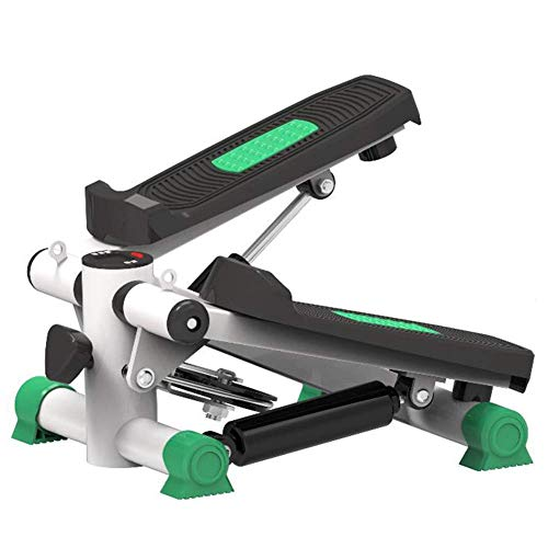 Balance Unterstützung Mini Bike Heimtrainer Stepper, Elliptical Bike Trainingsmaschine Computer-Digital-Dispaly Variable Widerstand Platzsparender Stand Up Stepper Under-Desk Elliptical LCD-Monitor