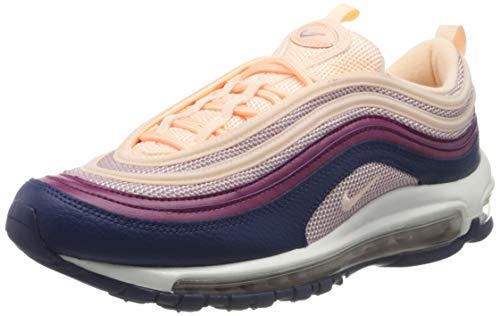 Nike WMNS Air Max 97, Sneakers Basses Femme, Rose (Pink 921733-802), 39 EU