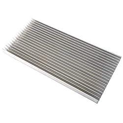 """YaeCCC Aluminum Heatsink Heat Sink Heat Module Cooling Cooler Light Heat Sink for High Power Led Light, 11.8""""x5.51""""x0.79"""" / 300x140x20mm"""