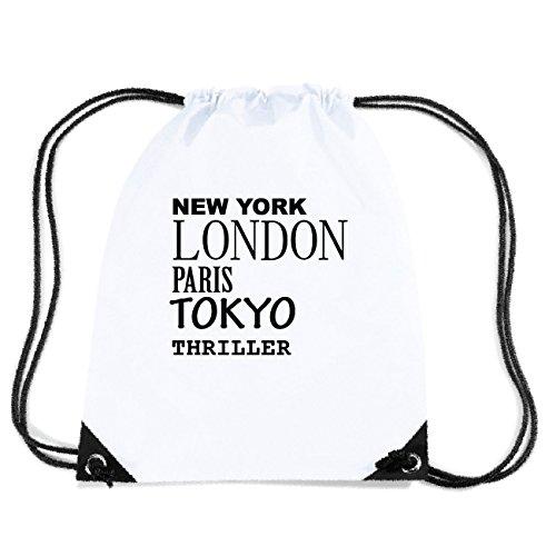 JOllify Thriller Turnbeutel Tasche GYM6066 – Design: New York, London, Paris, Tokyo
