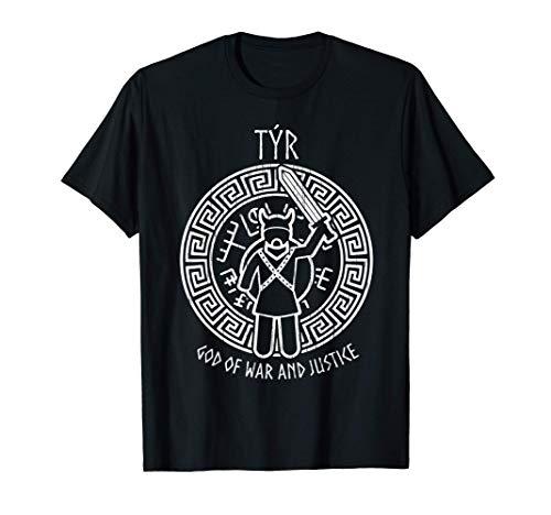 God of War | Nordic Gods Viking Gifts Norse Mythology Tyr T-Shirt