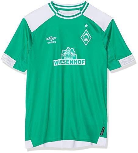Umbro Kinder Werder Bremen Home SS Jersey, grün, 152 cm