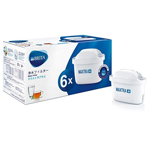 ブリタ 浄水 ポット カートリッジ マクストラ プラス 6個セット 【日本仕様・日本正規品】 塩素 水垢 不純物 除去