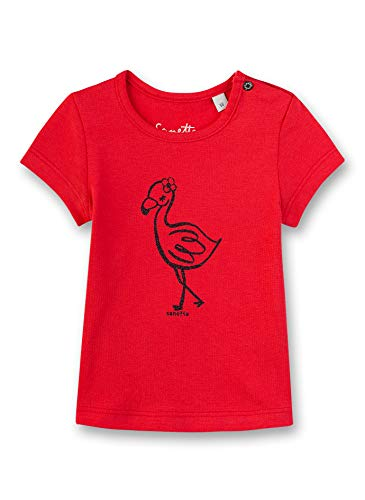 Sanetta Shirt, Rouge (Fresh Strawberry 3904), 92 (Taille Fabricant: 092) Bébé Fille