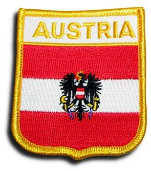 Austria (Eagle)- Country Shield Patch