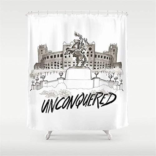 Zarona Unconquered - FSU Print Shower Curtain 60x72 inch