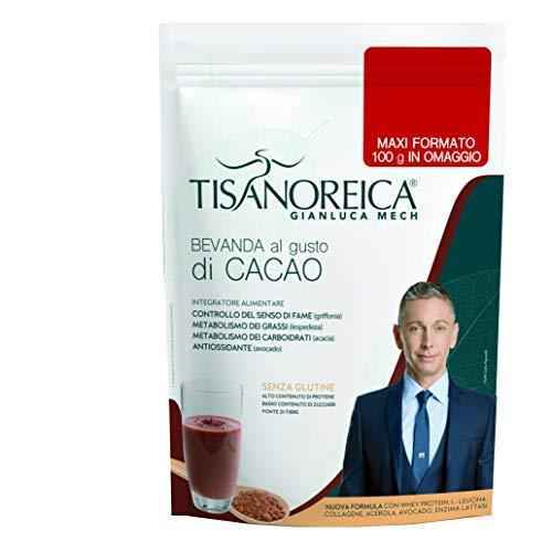 Gianluca Mech - Bevanda Proteica Gluten Free al Gusto Cacao, Integratore alimentare - 500gr