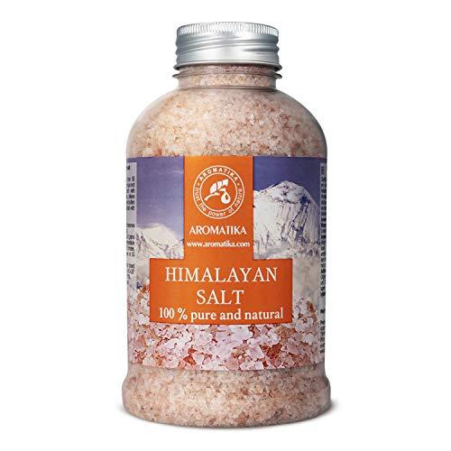 Himalaya Salz Rosa Kristallsalz 600g - 100% Rein & Natürlich - Natursalz - Salz Himalaya für Guten Schlaf - Stressabbau - Baden - Himalaya Badezusatz