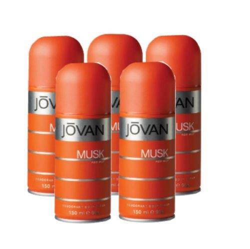 JOVAN MUSK by Jovan DEODORANT BODY SPRAY 5 OZ