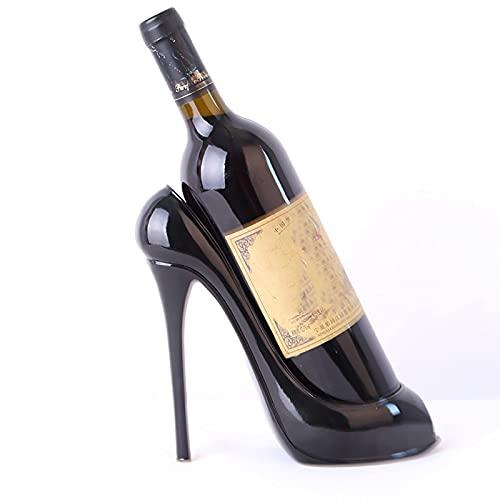 - Zapatero de tacón Alto, Resina, Botella de Vino, hogar, Cocina, Bar