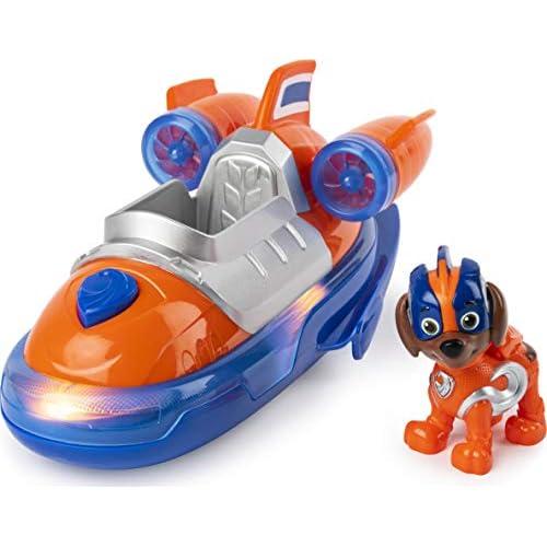 PAW Patrol, veicolo deluxe di Mighty Pups Super Paws ZUMA, con luci e suoni, dai 3 anni - 6054651