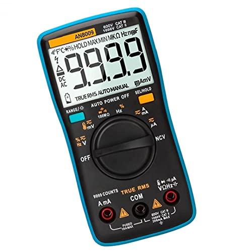 Hainice ANENG AN8009 Multímetro Digital Función de Voltaje automotriz Herramienta de medición del Metro electrónico