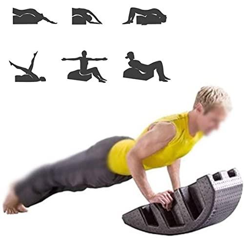UimimiU Pilates Massage Cama Multifunción Pilates ARC Spine ORTHOSIS Pilates POLOR POLOR Pilates Mesa de Masaje Polpicina Corrector Yoga Pilates Cama quiropráctica Equipo de Equipo Ortesis