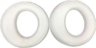 Yuhtech Almohadillas de Repuesto para Auriculares Sony Gold Wireless PS3 PS4 estéreo 7.1 (White)