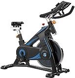 Vélo de spinning professionnel d'intérieur avec support de bras rembourré, siège confortable,...