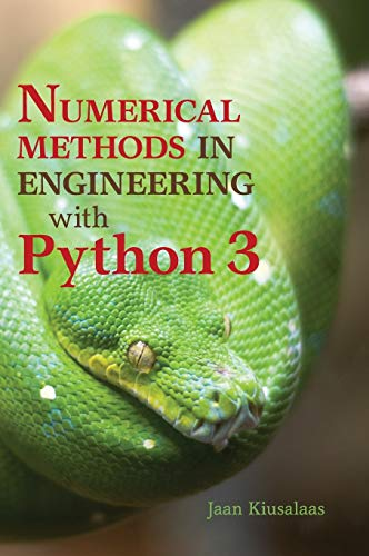 Compare Textbook Prices for Numerical Methods in Engineering with Python 3 3rd Edition ISBN 9781107033856 by Kiusalaas, Jaan